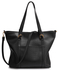 LS00413 - Large Black Shoulder Handbag