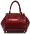 LS00258B - Burgundy Bow Framed Satchel