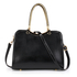 AG00395A  - Black Grab Shoulder Handbag