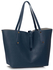 LS00504 - Large Navy Shoulder Handbag