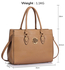LS00511 - Wholesale & B2B Nude Metal Detail Grab Tote Handbag Supplier & Manufacturer