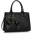 LS00374B - Black Grab Bag With Bow Charm
