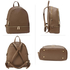LS00171  - Brown Backpack Rucksack School Bag