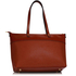 LS00121- Brown Grab Shoulder Handbag