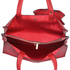 LS00236 - Red Bow-Tie Shoulder Tote Bag