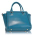 LS00255B - Blue Grab Tote Handbag