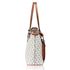 AG00534 - White Women's Tote Bag With Front Pocket