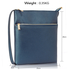 AG00539 - Navy Cross Body Shoulder Bag