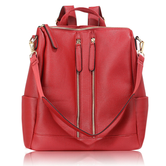 AG00523 - Burgundy Backpack Rucksack School Bag