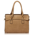 AG00342 - Wholesale & B2B Taupe Grab Tote Bag Supplier & Manufacturer