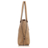 AG00494 - Taupe Women's Tote Shoulder Bag
