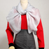 AGSC009 - Plain Grey Wrinkler Women's Scarf