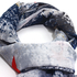 AGSC032 - Stylish Print Navy Women's Scarf