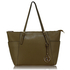 AG00350 - Taupe Women's Large Tote Handbag