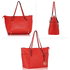 AG00350 - Red Women's Large Tote Handbag
