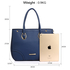 AG00515 - Navy Women's Tote Shoulder Bag
