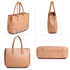 AG00515 - Nude Women's Tote Shoulder Bag