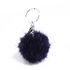 AGC1013 - Navy Fluffy Fur Bag Charms