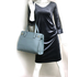 AG00527 - Blue Tote Shoulder Handbag