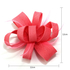 AGF00213 - Pink Feather & Flower Fascinator On Clip