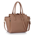 AG00314A - Wholesale & B2B Nude Zipper Tote Supplier & Manufacturer