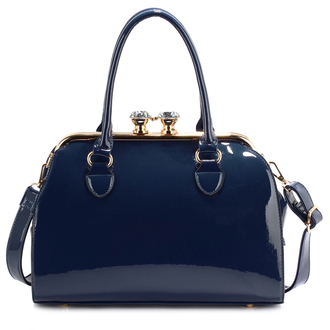 anna grace satchel handbag