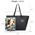 AG00532 - Black Women's Tote Bag