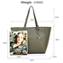 AG00532 - Grey Women's Tote Bag