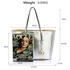 AG00297 - Silver Women's Large Tote Bag