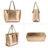 AG00297 - Gold Women's Large Tote Bag