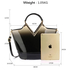 AG00379 - Nude Two Tone Patent Bag