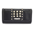 LSP1041A - Black Purse/Wallet With Crystal Decoration
