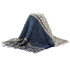 AGSC208 - Navy Women's Texture Winter Scarf