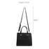 AGA0012 - Black Anna Grace Shoulder Bag Strap