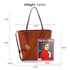 AG00564 - Brown Women's Large Tote Bag