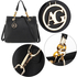 AG00536A - Black Women's Tote Shoulder Bag