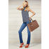 AG00536A - Nude Women's Tote Shoulder Bag