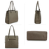 AG00558 - Wholesale & B2B Grey Fashion Tote Handbag Supplier & Manufacturer