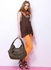 AG00554 - Coffee Women's Hobo Shoulder Bag