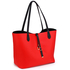 AG00567 - Reversible Black/Red Large Tote Bag - Fits laptops up to 15.4''