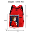 AG00585 - Red Backpack School Bag