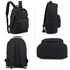 AG00585 - Black Backpack School Bag