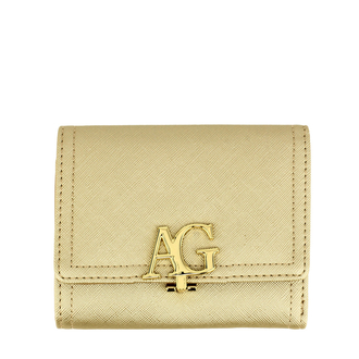 anna grace flap purse wallet