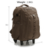 AG00398A - Coffee Backpack Rucksack With Wheels