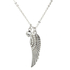 AGN0036 - Silver Plated Wing Necklace