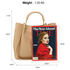 AG00610 - 3 Pieces Set Nude / Nude Women's Fashion Handbags