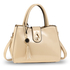 AG00650 - Beige Tassel Shoulder Handbag