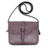 AG00660 - Purple Flap Cross Body Shoulder Bag