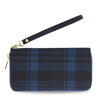 AGP5010 - Navy Women's Zip Around Purse / Wallet