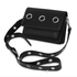 AG00714 - Black Flap Cross Body Bag